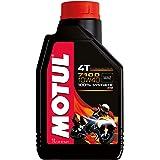 MOTUL(モチュール)7100 4T 10W40 バイク用エンジンオイル 100% 化学合成(エステル) 1L [並行輸入品]