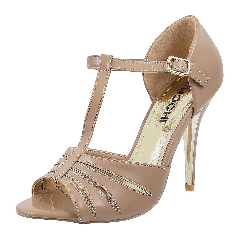 Buy Mochi Womens High Heel Mary Jane