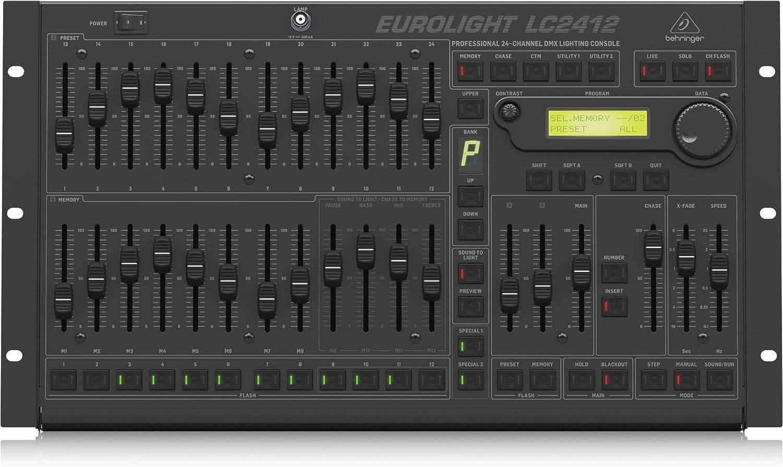 BEHRINGER EUROLIGHT LC2412 V2 24ch DMX照明制御コントローラー ベリンガー