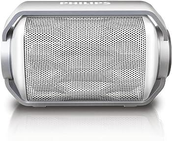 Philips Rugged Waterproof Bluetooth Portable Speaker