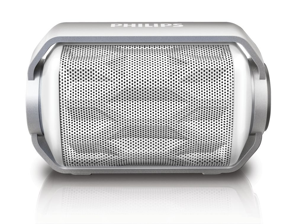 Philips BT2200W/27 Bluetooth Wireless Portable Speaker with.