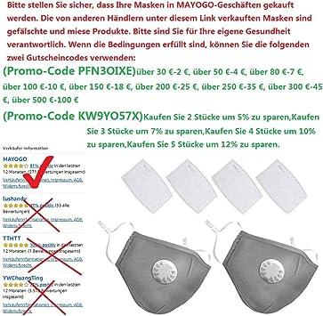 n95 maske waschbar