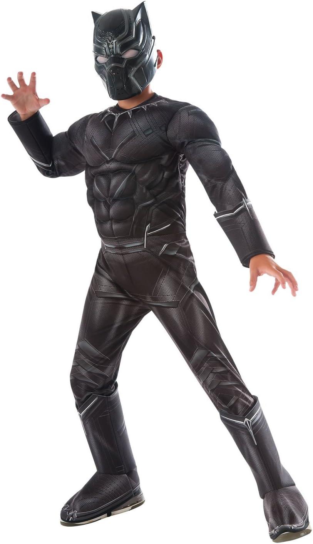 Rubies s oficial Guerra Civil Marvel negro pantera Deluxe, niños ...