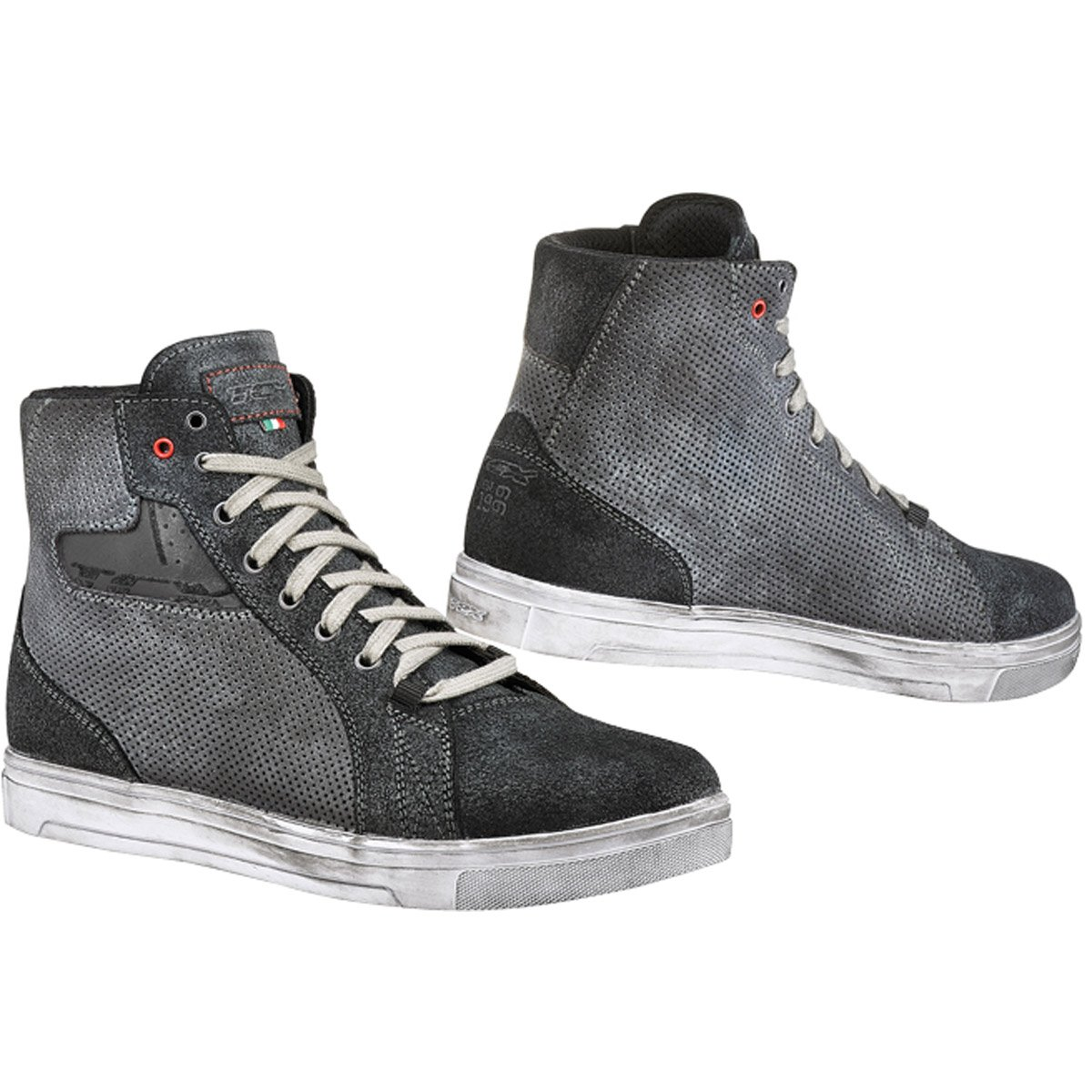 TCX Street Ace Air Men's Street Motorcycle Shoes - Anthracite / 39
