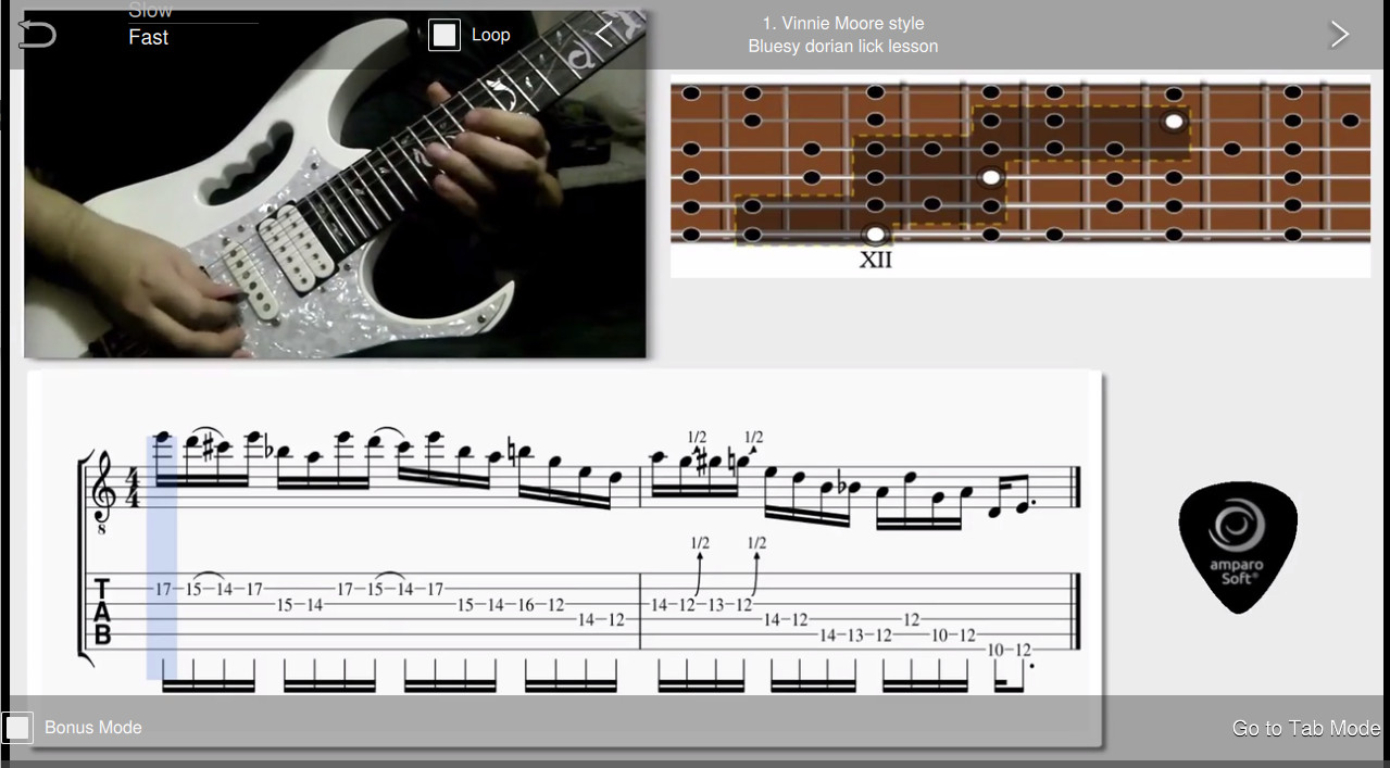 Shred Guitar Mastery for Windows [Download] by amparoSoft