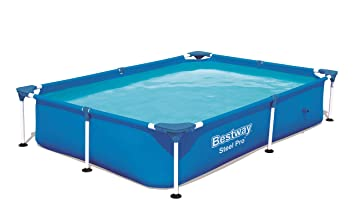 Bestway Splash Jr.Piscina Desmontable Tubular Infantil, 221 x 150 x 43 cm