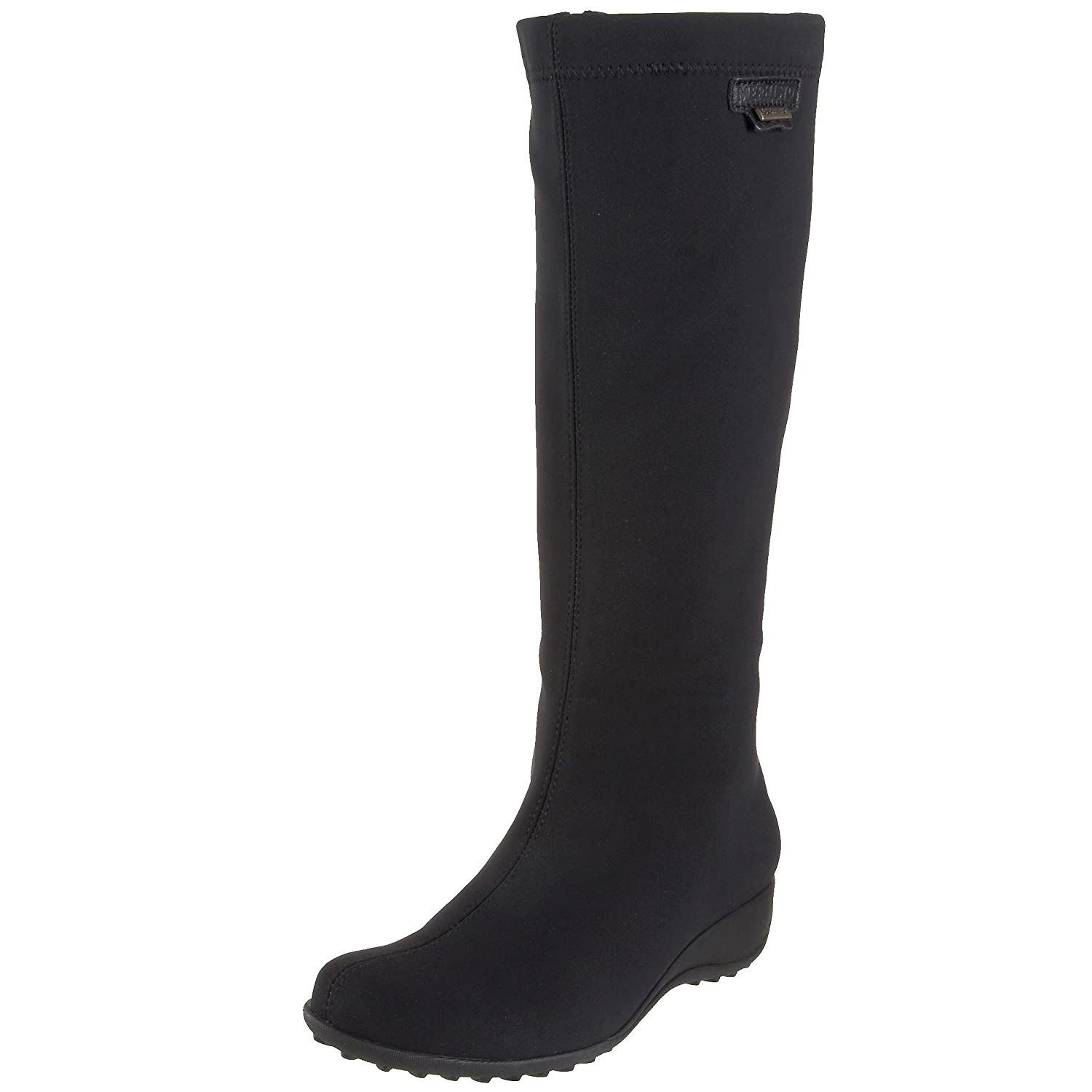 Mephisto Women's Linda Rain Boot B002VLECVY 8.5 B(M) US|Black Stretch