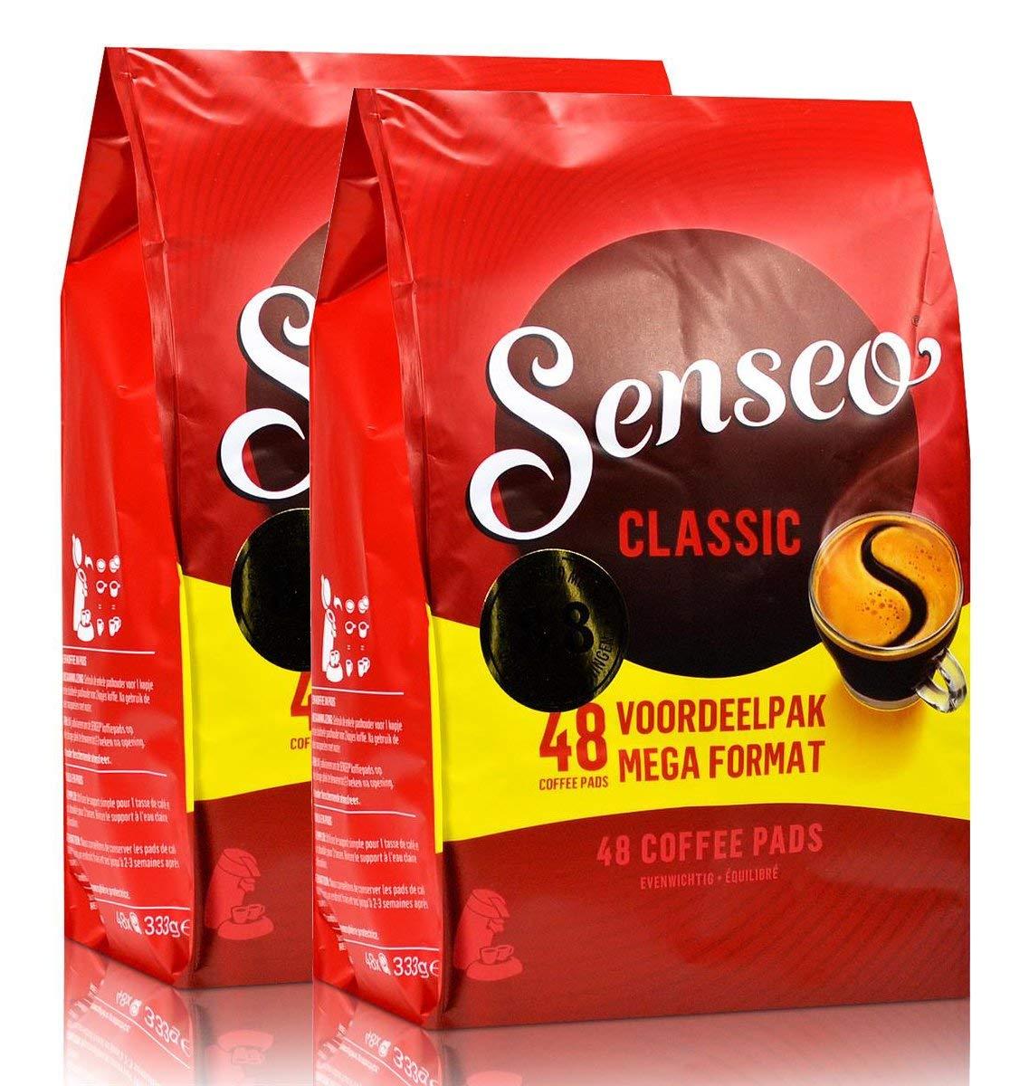 Senseo Regular / Classic Roast, New Design, Pack of 2, 2 X 48 Coffee Pods