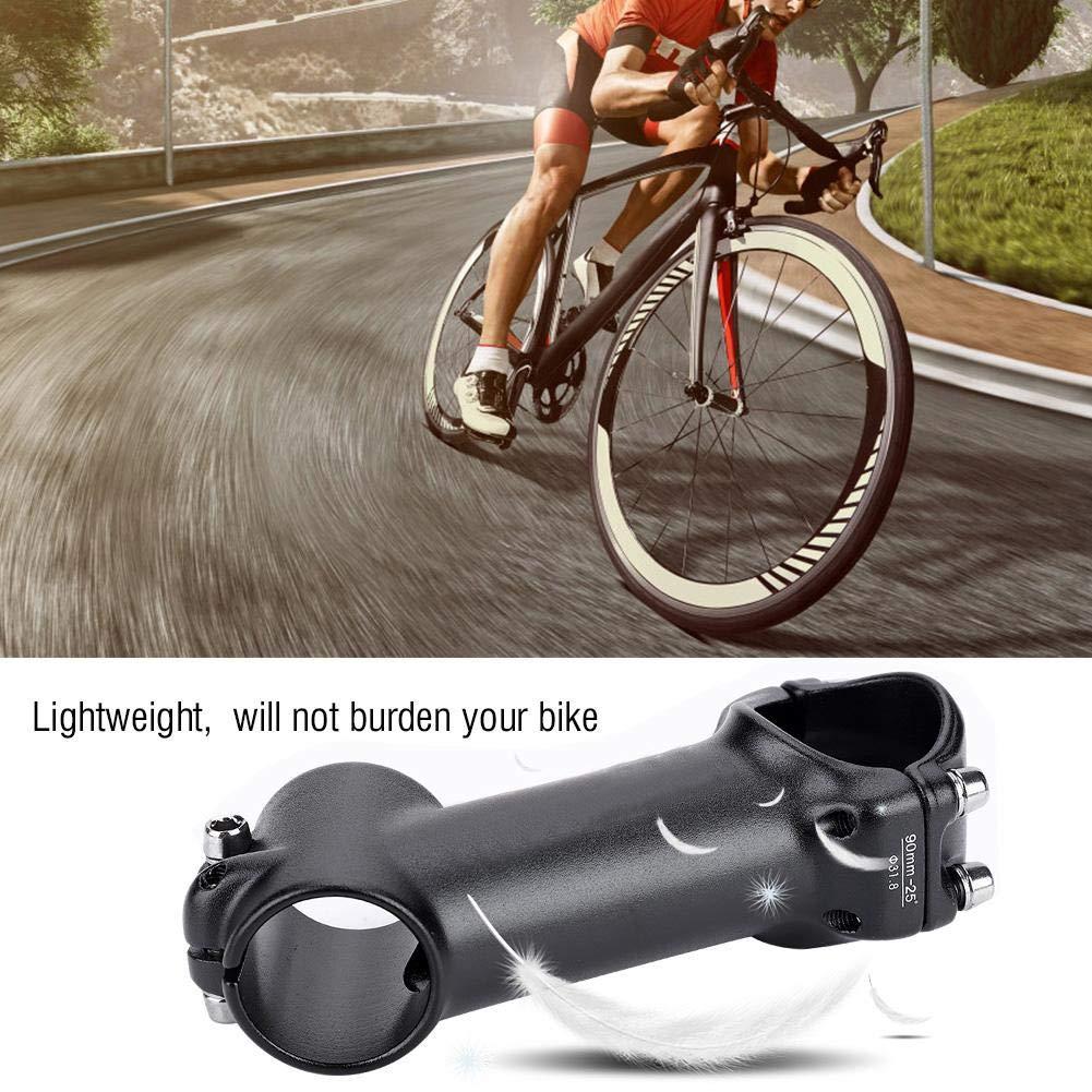 Dilwe V/ástago de Bicicleta Accesorio de Pieza de Repuesto de V/ástago de Tubo de Aleaci/ón de Aluminio para Bicicleta de Monta/ña