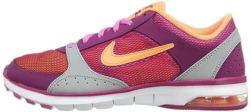 Nike Air MAX Fit, Botines para Mujer, Morado-Purple-Violett (Bright Magenta/Atomic Orange-Base Grey-Red), 36 EU: Amazon.es: Zapatos y complementos