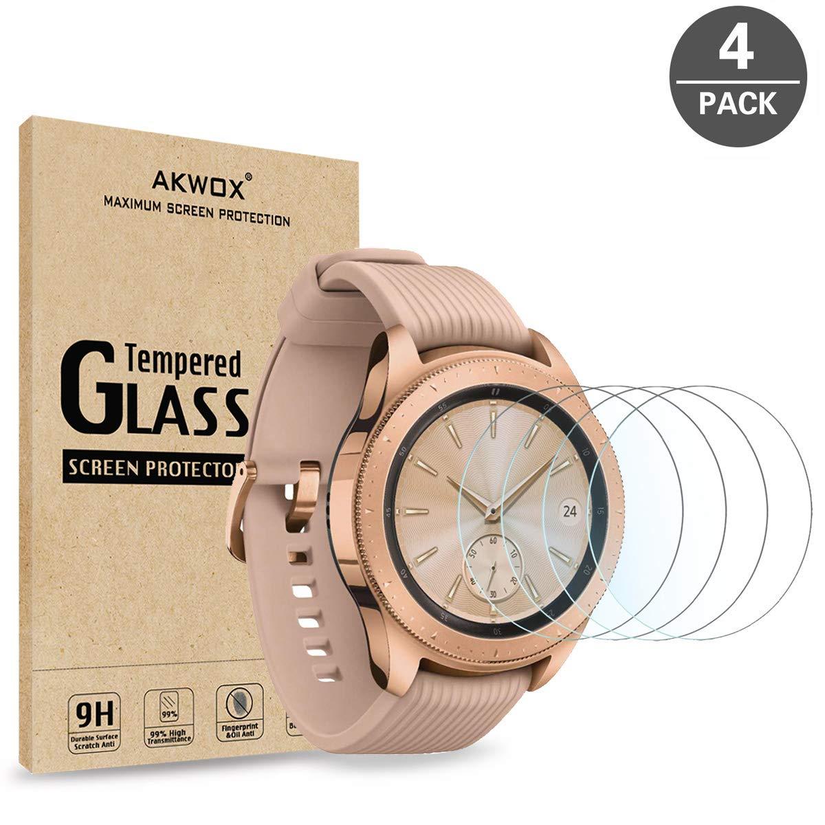 Vidrio Protector para Samsung Gear S2 x4 AKWOX -7GQZWF6G