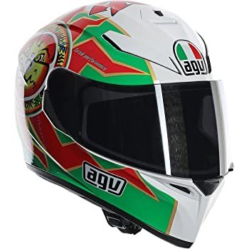 AGV Unisex-Adult K-3 SV Imola Helmet (Multi-Color, Large)