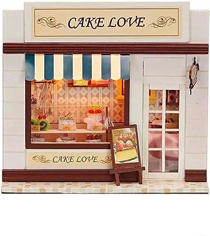Dollhouse Miniature I Love Baking Set