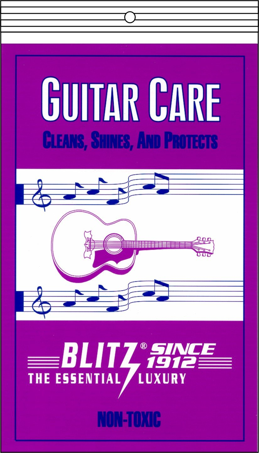 Blitz Music Care 335 Guitar Care with 2 Cloths