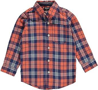 OshKosh B Gosh - Camisa - para Niño Rosa Coral: Amazon.es ...