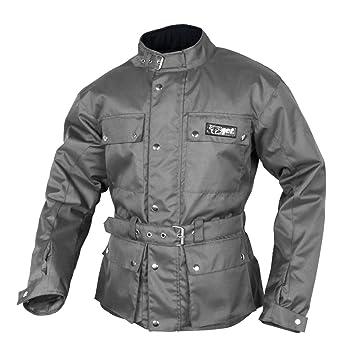 JET Chaqueta Moto Hombre Impermeable Textil con ...