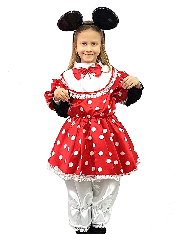 pequeños monelli Traje Minnie niña Vestido Minnie Mouse niña bebé ...