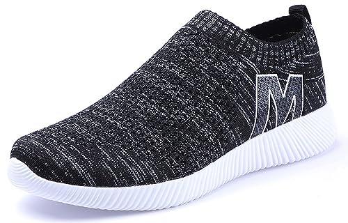 Zapatillas de Deporte Zapatos Para Correr Sneakers Hombre Mujer Ligero Transpirable Comodo al Aire Libre Casual