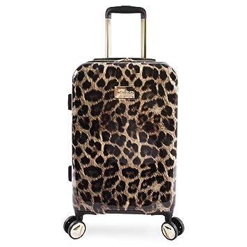 Bebe - Equipaje de Mano Adulto Unisex Leopardo Talla única: Amazon.es: Equipaje