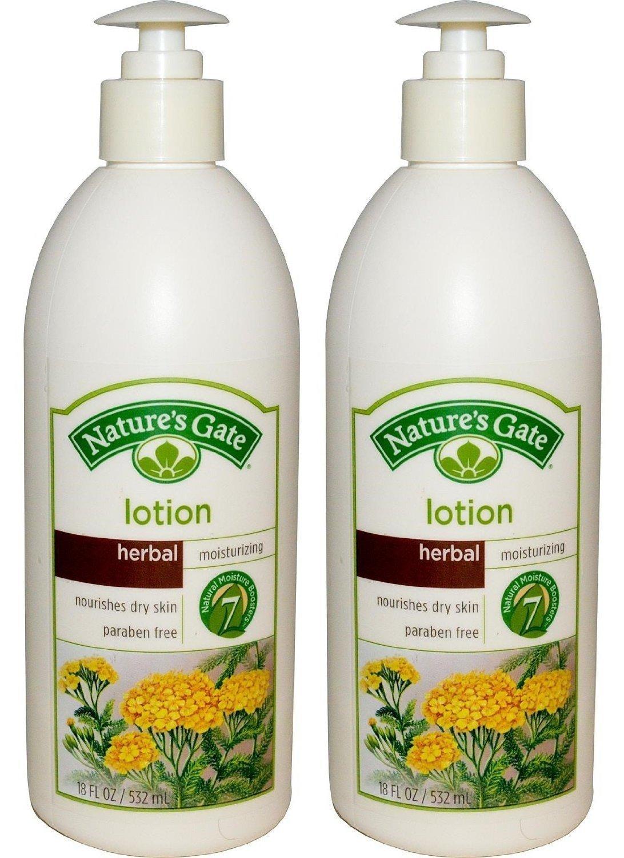 Nature's Gate Moisturizing Body Lotion - Herbal - 18 oz - 2 pk