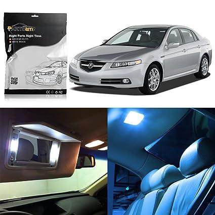 Amazoncom Partsam LED Interior Light Package License Plate Light - Acura tl 2004 interior