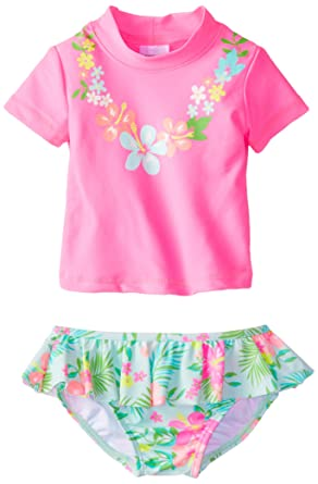Carters Baby Girls 18 Months Pink Tutu Bathing Suit Swimsuit Swimwear
