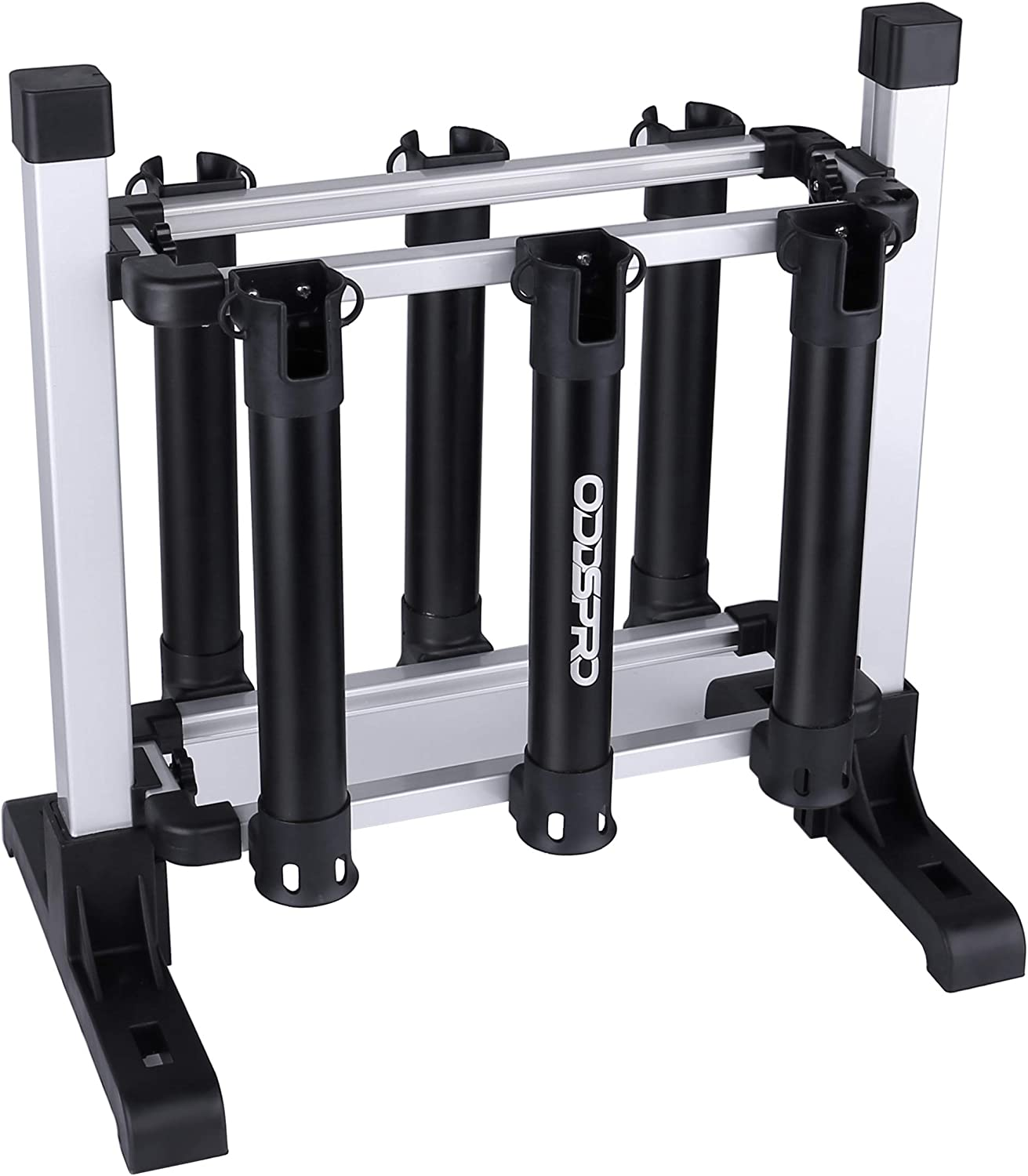 ODDSPRO Fishing Rod Rack, Portable Fishing Rod Storage Rack – Fishing Rod Holder for All Types of Fishing Rod and Reel Combos