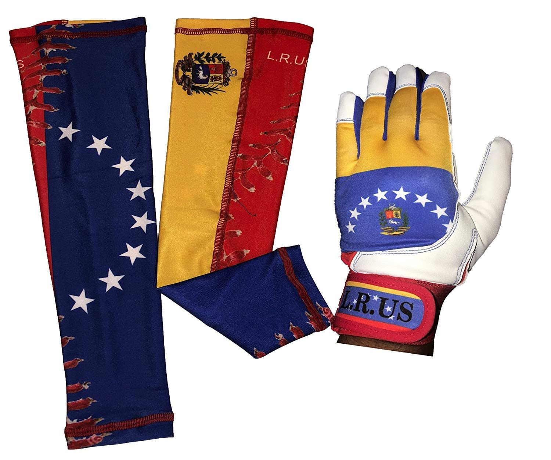 【気質アップ】 Venezuela B07CN9PRM9 Flagバッティング手袋&アームスリーブコンボ B07CN9PRM9 Venezuela Medium Medium, 結婚アイテム ルブラン:e0d66c47 --- a0267596.xsph.ru