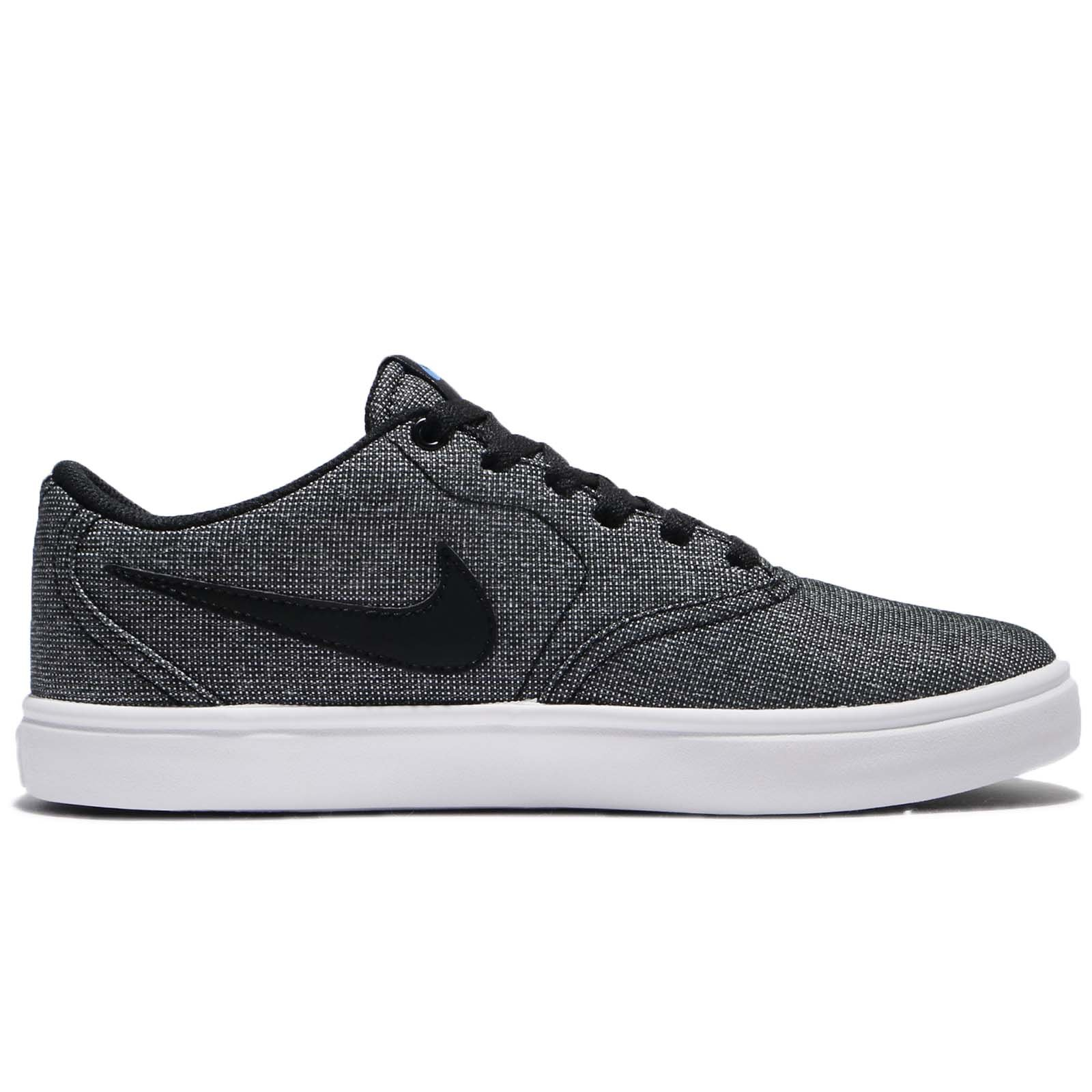 Nike Mens Check Solar Solar Sole Skateboarding Shoes Black 4.5 Medium (D) by Nike (Image #2)