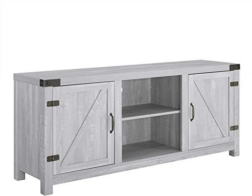 Home Accent Furnishings Tucker 58 Inch TV Stand in Stone Grey