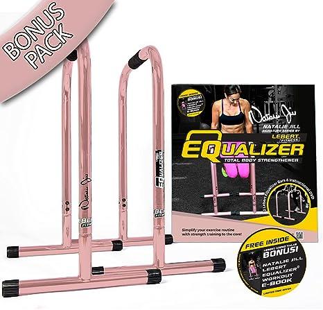 El Original Lebert Fitness Equalizer, BONUS PACK Rose Gold: Amazon.es: Deportes y aire libre