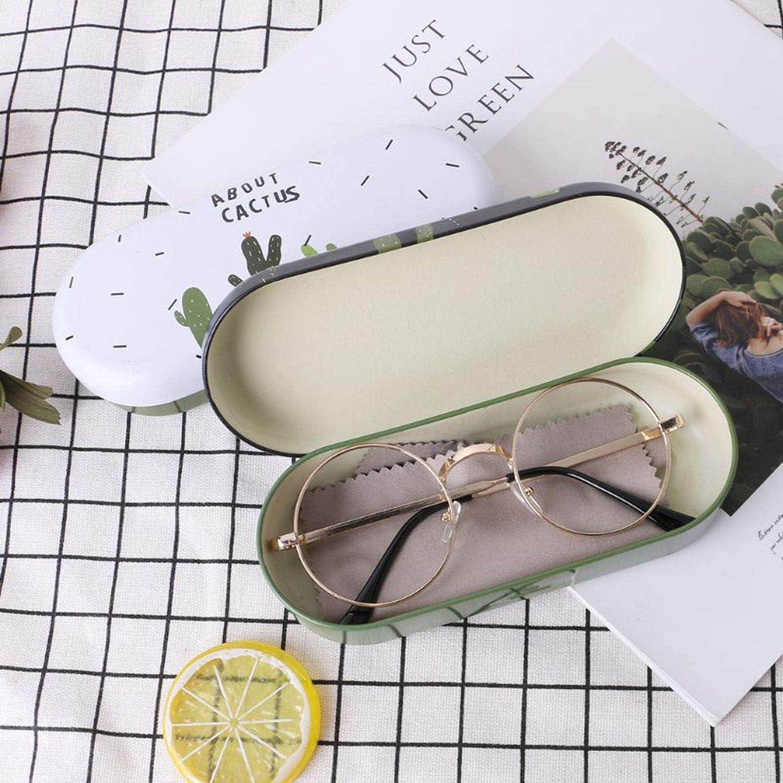 Reading Glasses Sunglasses Box Optical Glasses Iron Case Hard Cute Creative Storage Portable Eyeglasses Protective Cover