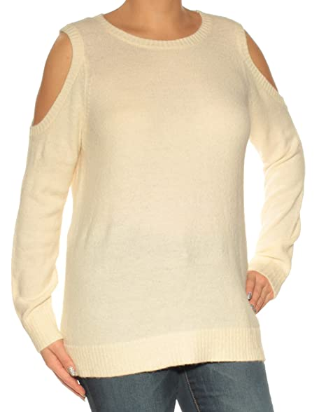 e2f7f0f4a7 kensie Women s Warm Touch Cold Shoulder Sweater at Amazon Women s Clothing  store