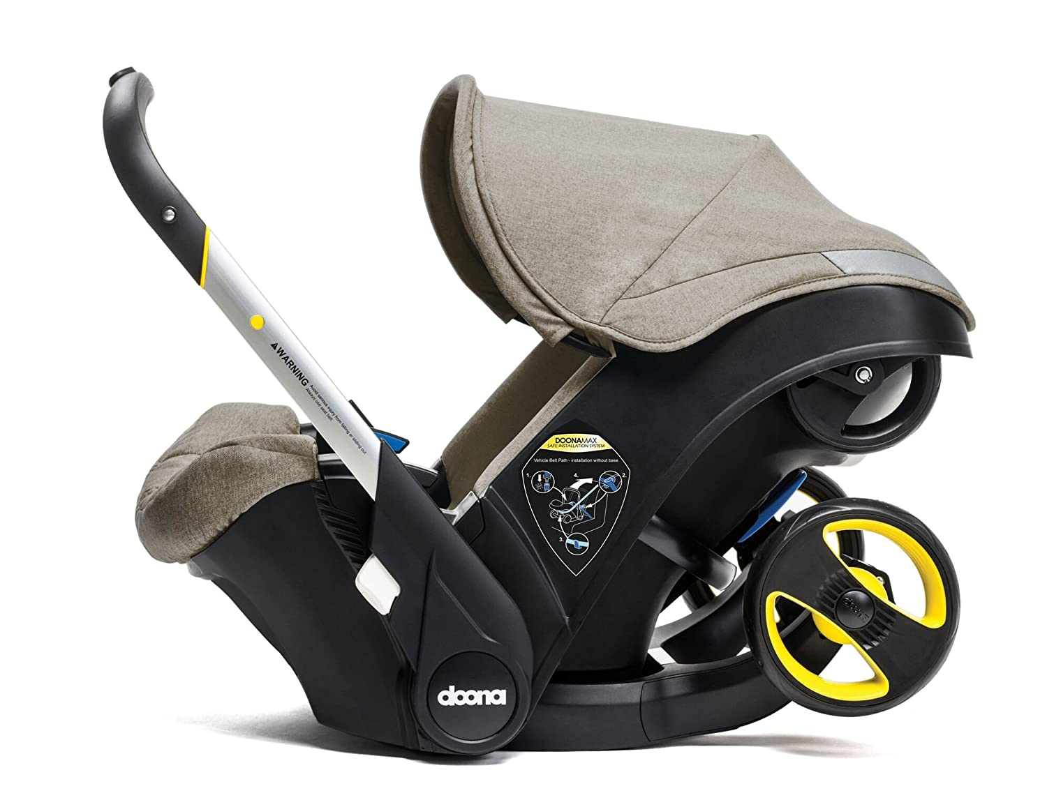 Doona Car Seat Stroller Group 0 1 Dune Revolutionary 2 In 1 Group 0 1 Car Seat That Converts Into A Pram In Seconds