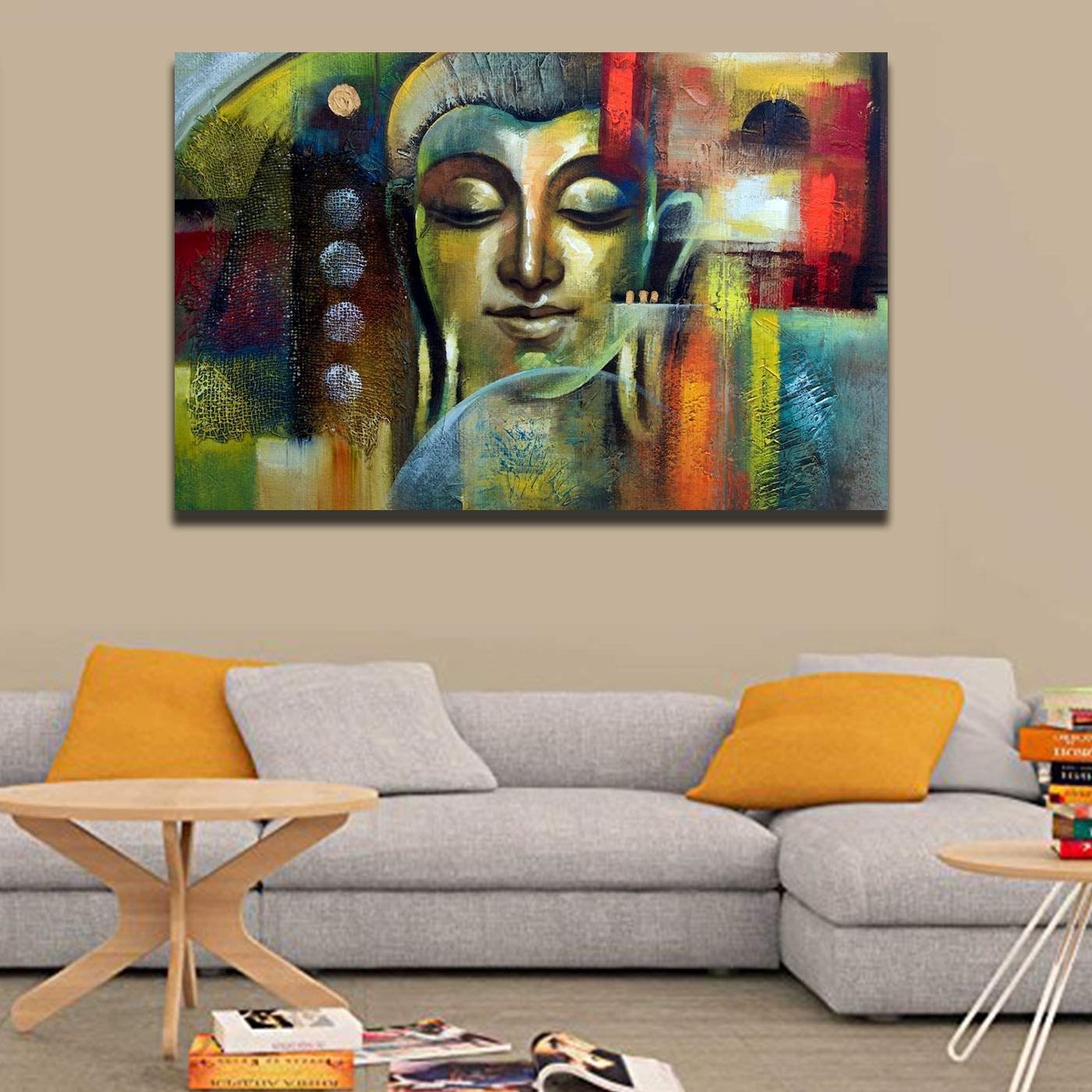 Uni Fashion Fair Style Crome Canvas Paintings Digital HD Printed and Framed  (Wood, 31 * 21 inches, Multicoloured) for Home /Wall Decor: Amazon.in: Home  & Kitchen