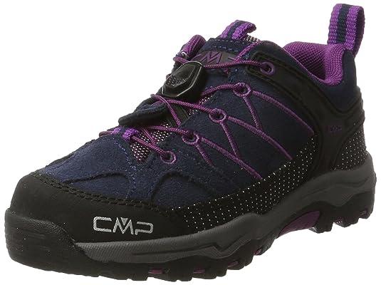 CMP Chaussures Spécial Sports D'Extérieur Pour Garçon - Gris - Antracite-Red Fluo Bmz3zG,