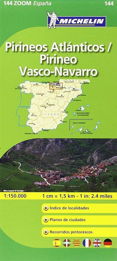 Mapa Zoom Pirineos Atlánticos / Pirineo Vasco-Navarro (Mapas Zoom ...