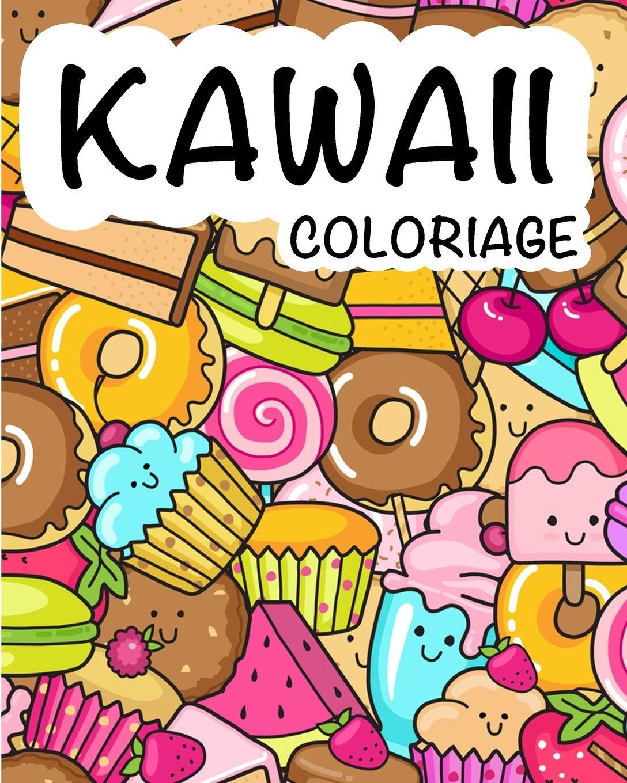 Dessin Kawaii A Colorier Fast Food