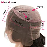 Megalook 360 Lace Frontal Wig Pre Plucked