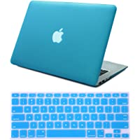 HDE Plastic Hard Shell Case for MacBook Air 13 Inch (Models: A1369/A1466), Teal