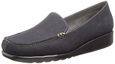 A2 by Aerosoles Women's Gondola Slip-On Loafer,Black Combo,5 ...