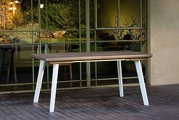 Salone-negozio-online Mesa Harmony Extensible Resina 160 ...