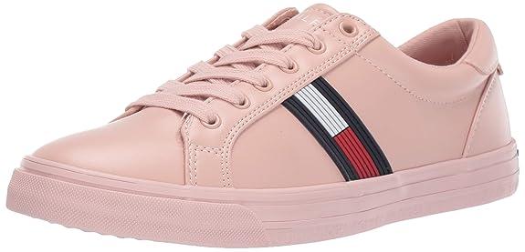 Tommy Hilfiger Women's ONEAS Sneaker, Blush, 7.5 M US