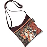Laurel Burch Crossbody Bag, 10 by 10-Inch, Moroccan