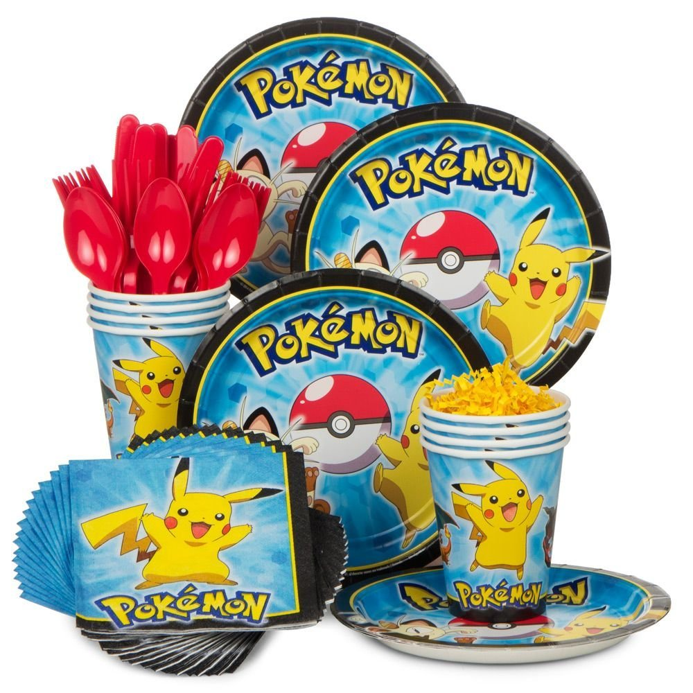 Pokemon Party Bundles for 8 Guests