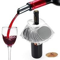 Yobansa - Set di 12 dischi salvagoccia per versare vino