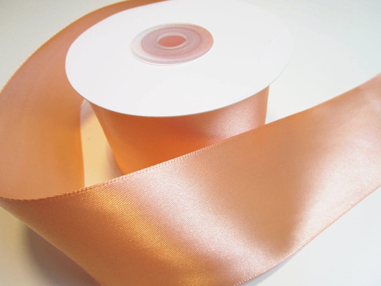 saumon orange 10/m x 10/cm Ruban de Satin