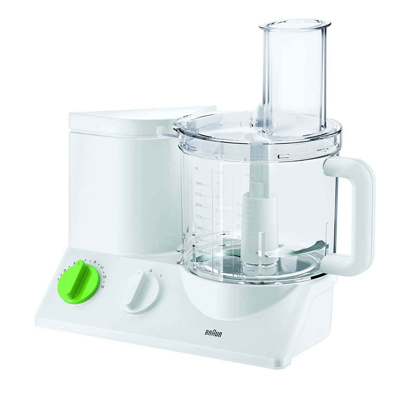 Bianco 800 W Braun 0X22011001 Robot da Cucina