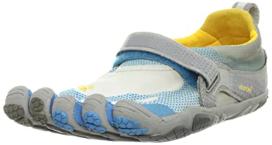 official photos a2e8e 4c523 Vibram Bikila Shoe - Women s Sky Blue Dark Grey Grey 36 FiveFingers