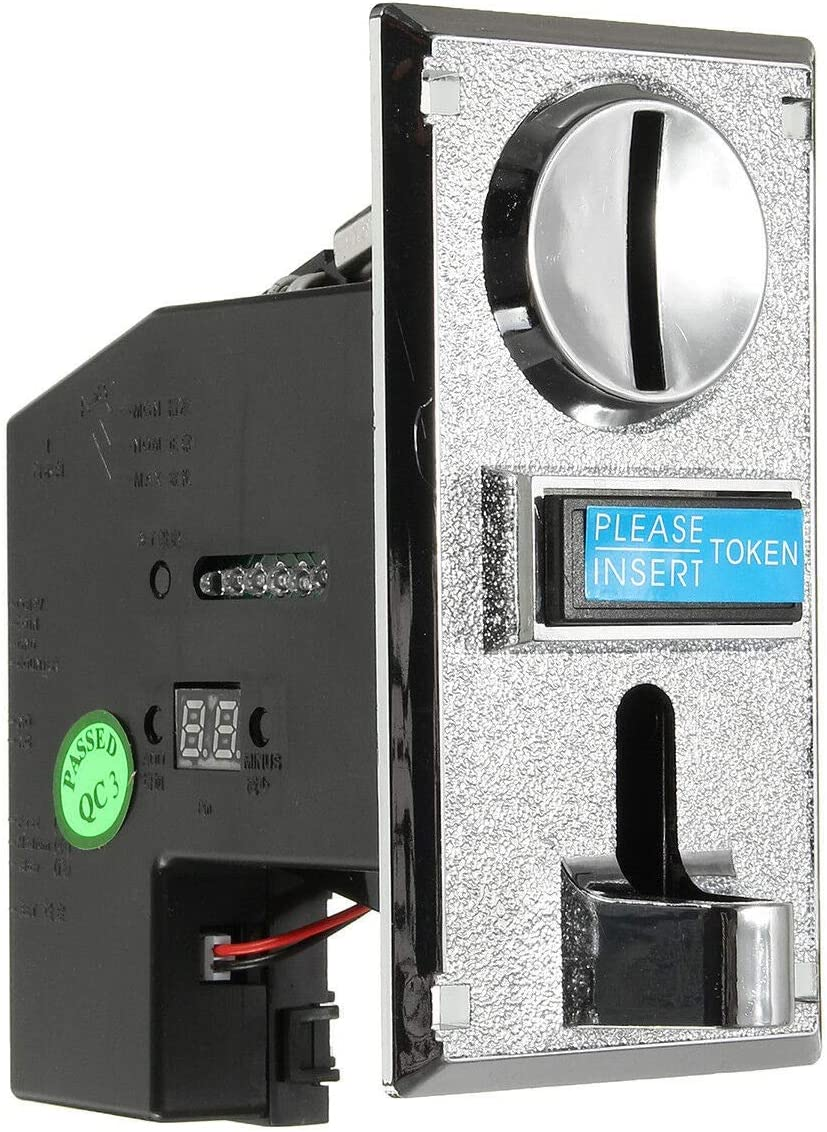SovelyBoFan Selector de aceptadores de monedas múltiples para máquinas expendedoras de mecanismos Mech Arcade Game